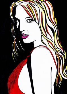 Britney Spears by DiMeStOreArt.deviantart.com on @deviantART