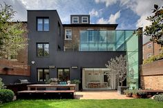 Victorian terraces tranformed into beautiful London family home