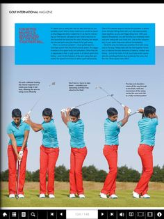 Golf swing drill