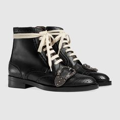 Gucci Queercore brogue boot Detail 2