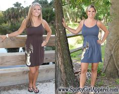 ONESIZE Cute  hunting dress with straps -MORE COLORS