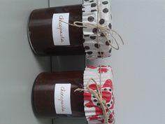 Pure chocoladepasta met hazelnoten