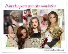 Peinados para una cita romantica   http://creandotuestilo.com/2012/02/08/especial-valentines-day-peinados-para-una-cita-romantica/#