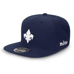 FDL-FILL Flat Bill Snapback Cap - Navy Blue-*Flat Bill-Noble Streetwear™