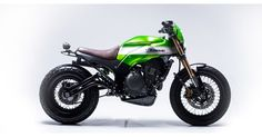 "Kawasaki ER-6 Street Tracker ""THE TWISTER"" by Smoked Garage #motorcycles #streettracker #motos 