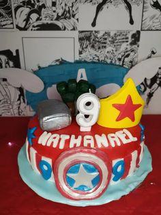 Organiser un anniversaire Marvel - SabrinaBerrich Costume Thor, Anniversaire Harry Potter, Lets Celebrate, Diy Organization, Birthday Cake, Marvel, Party, Leftover Fabric