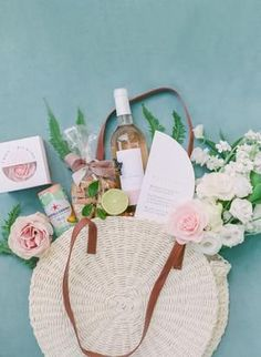 Exclusive Château De La Gaude Wedding Inspiration, a Provence Venue Never Seen Before! Wedding Hotel Bags, Wedding Welcome Bags, Wedding Bag, Flat Lay Photography, Provence, Virtual Assistant, Stationery, Reusable Tote Bags, Inspiration