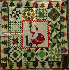 Such a whimsical santa!! @The Quilt Rack and The Wool Cubby : do you have this pattern?