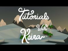 Low Poly Tutorial - Lighting, landscape and more ! - YouTube