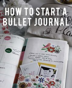 An easy step-by-step guide to starting a Bullet Journal (Bujo) today! Learn what a Bujo is, materials needed, and how to create each section.