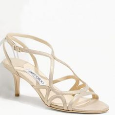 Beige Jimmy Choo Demure Sandals Cheap Christian Louboutin, Beige Sandals, Evening Shoes, Sandals For Sale, Jimmy Choo Shoes, Dress And Heels, Gold Leather, Diva, Fashion Shoes
