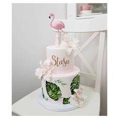 Birthday Sleepover Ideas, Teenage Girl Birthday, Birthday Parties, Mermaid Theme Birthday, Flamingo Birthday, Flamingo Cake, Flamingo Party, Happy Anniversary Cakes, Peacock Cake