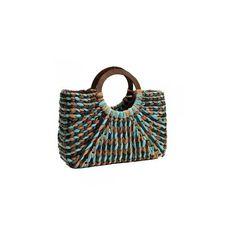 Straw bag designer woven straw handbag