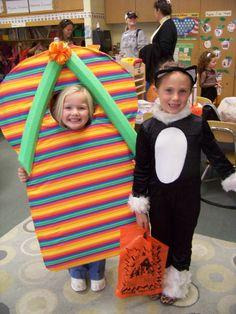 Homemade flip flop halloween costume! Clever!