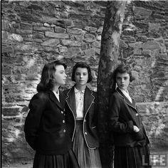 """Nina Leen, series on """"teenage life in 1944."""""""