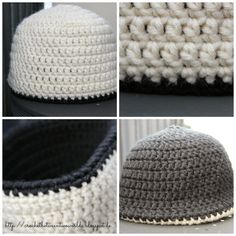 Free Pattern: Reversible Beanie / Double Layered Beanie