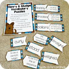 Henry and Mudge Supplemental Activities Journeys 2nd Grade
