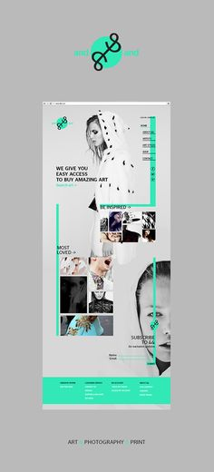 And And Web Design on Behance