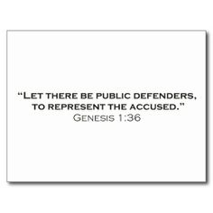 Let there be Public Defenders