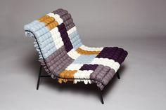 Mosaiik Lounge Chair by Annika Goransson
