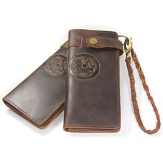 Tiger Totem - Men's Vintage Leather Wallet