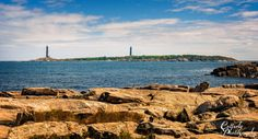 Thatcher Island Lights near Rockport, Massachusetts