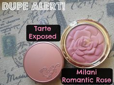 Drugstore Dupe of Tarte Amazonian Clay 12-Hour Blush in Exposed