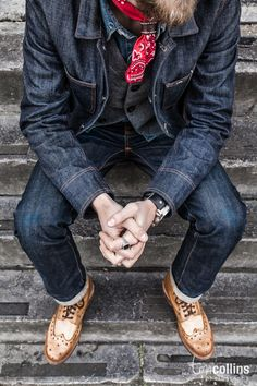 THE IMPECCABLY DRESSED BERTIE WOOSTER | alifewithdenim: DUKE & SONS LEATHER Ph.: Tim...