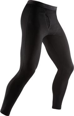 Icebreaker Men's Bodyfit Basics Leggings (with fly)