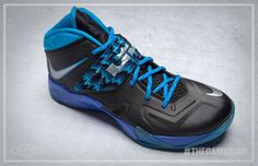 Free Shipping Only 69  Nike Zoom Soldier VII Black Royal 4b320995fc