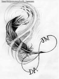 Resultado de imagen para plumas tattoo
