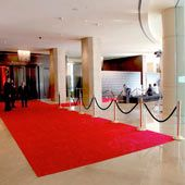 Los Angeles event production services including red carpet, step and repeat and more.. For more information about red carpet rental solutions, go to http://www.redcarpetsystems.com/products-services/red-carpet/