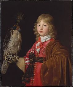 Portrait of a Boy with a Falcon Wallerant Vaillant (Flemish, Lille 1623–1677 Amsterdam)