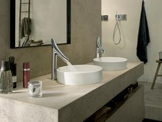 Its a beautiful faucet that washes the hands with luxury #modernliving #lifestyle #axor #luxuryinteriors