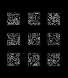 New Art Deco Design Pattern Illustrations Ideas Geometric Graphic Design, Geometric Pattern Design, Geometric Art, Pattern Art, Tribal Art, La Santa Muerte Tattoo, Art Deco Illustration, Pattern Illustrations, Indian Folk Art
