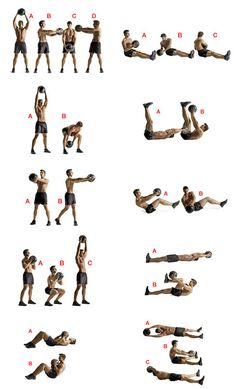 Medicine Ball Workout, but with kettle balls?