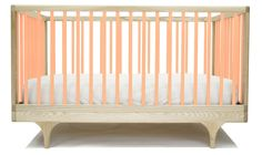 Limited Edition CARAVAN CRIB PINK Sustainably made in the U.S.A. Inspired by the storybook circus wagon and made almost entirely by hand, the Caravan Crib plays with classic form and contemporary, ultra-bold colors. #kalon