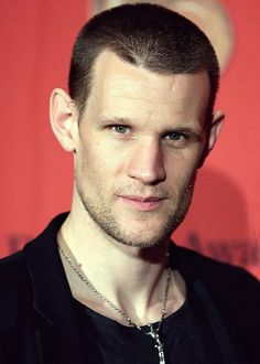 Matt Smith - the shaved head and muscles are growing on me.