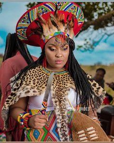 Zulu Traditional Wedding Dresses, Zulu Traditional Attire, Traditional African Clothing, Latest African Fashion Dresses, African Dresses For Women, African Attire, African Clothes, Zulu Wedding, Hair Wedding