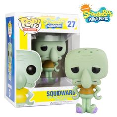 FUNKO POP Vinyl Figure SpongeBob SquarePants #27 Squidward NIB! Rare & Retired