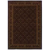 Found it at Wayfair - Cambridge Dark Brown / Tan Oriental Area Rug