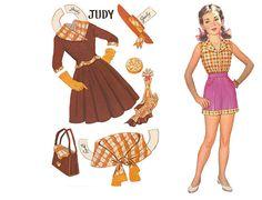 Paper Dolls~7 in 1 doll - Bonnie Jones - Álbumes web de Picasa
