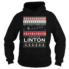 I Love I am the awesome LINTON T shirts