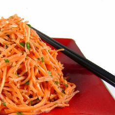 One Perfect Bite: Asian-Style Carrot Salad