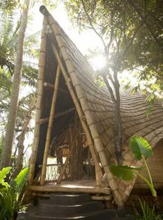 indonesian bamboo house