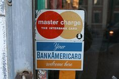Visa used to be called BankAmericard and Master Card used to be called Master Charge.  Once credit card usage started becoming international, they changed the names to be more world friendly.
