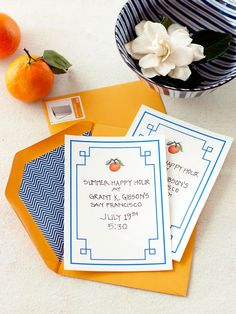 Free Printable Party Invitation...Set the tone for the party with a fresh and pretty invitation.