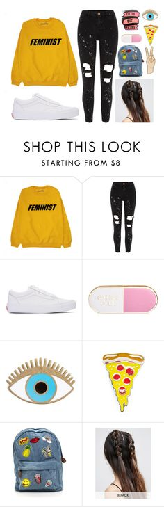 """""""Feminist"""" by ac-4am on Polyvore featuring River Island, Vans, ban.do, Lucky Brand, Sourpuss and ASOS"""