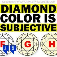 ►► DIAMOND COLOR IS SUBJECTIVE ►► Jewelry Secrets