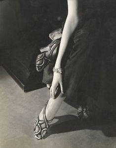 ~1934, Princess Nathalie Paley wearing sandals by Shoecraft ~ Edward Steichen~